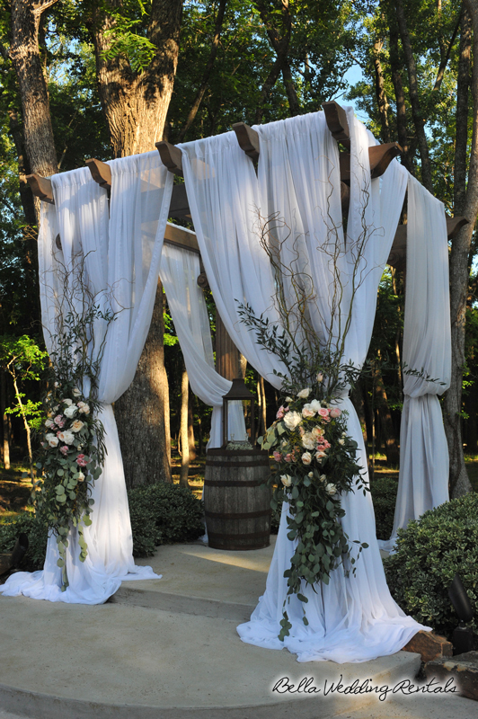 Decorated Pergola