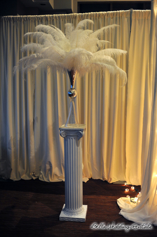 Great Gatsby Styled Altar