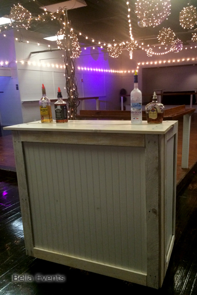 Rustic Chic Pallet Bar #B416