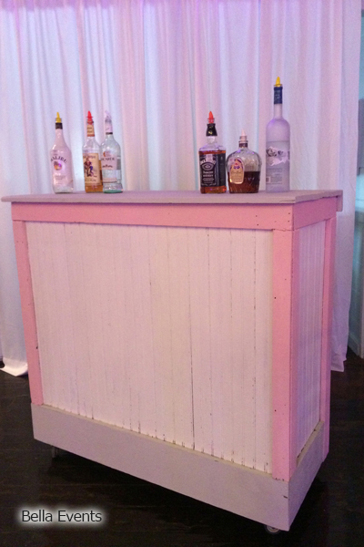 Shabby Chic Pallet Bar #B410