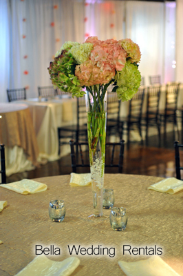 centerpiece rental - wedding
