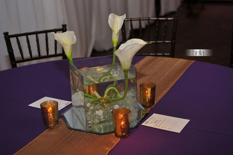 centerpiece rental - wedding reception 7042