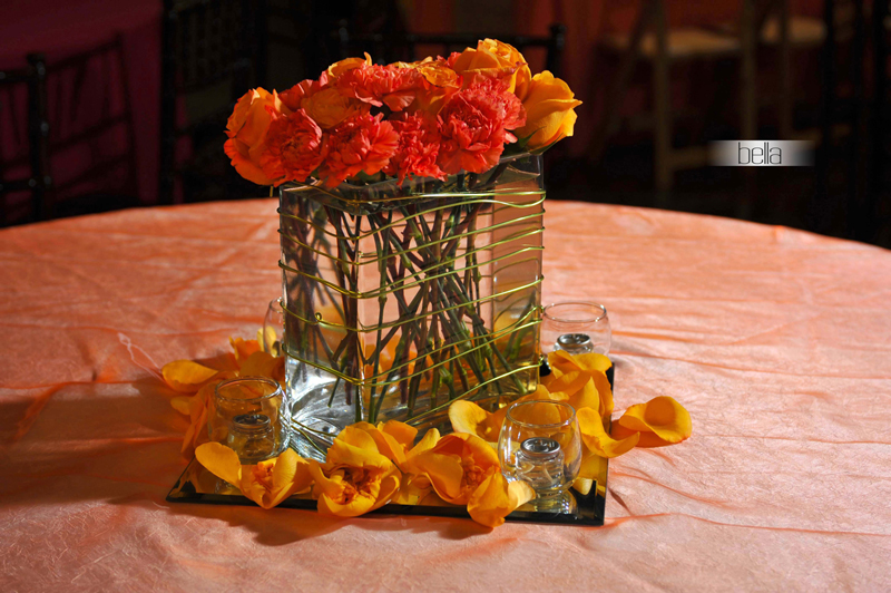 centerpiece rental - wedding reception 7090