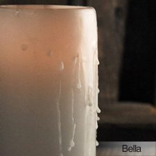 Pillar Candle centerpiece treatment