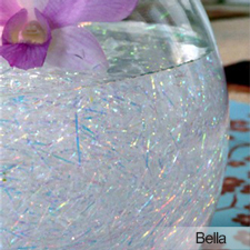 Crystal Fibers centerpiece treatment