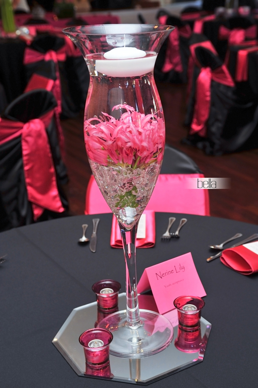 tulip vase-reception centerpiece-7214