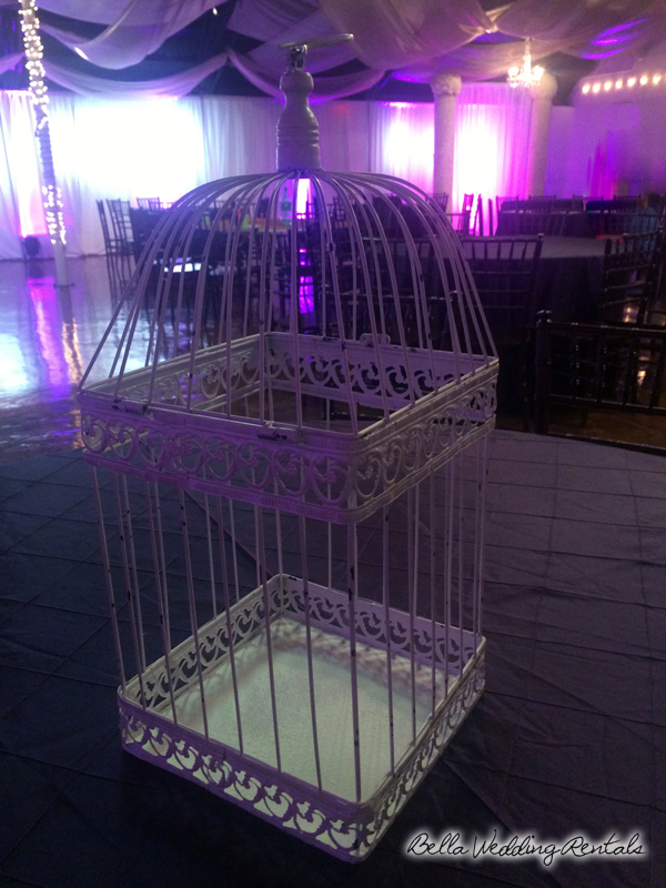 Antique Cream Birdcage