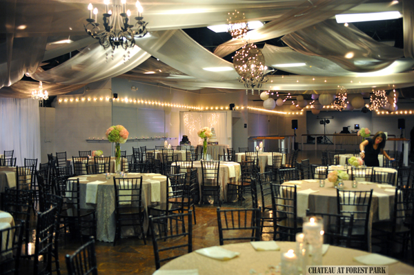 Chateau at Forest Park wedding day - 3759