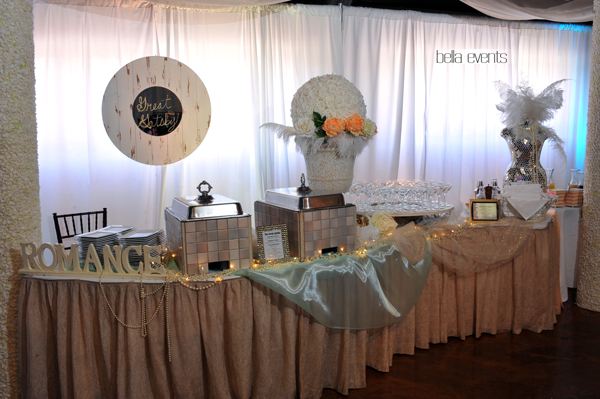 great gatsby wedding theme - Chateau at Forest Park wedding - 1525
