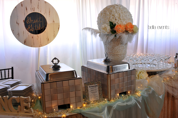 great gatsby wedding theme - Chateau at Forest Park wedding - 1527