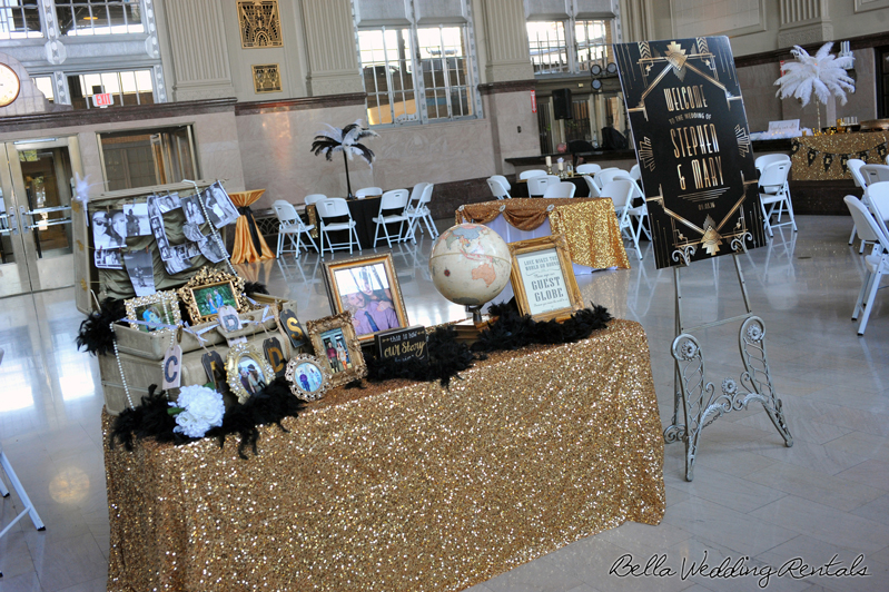 great gatsby wedding theme - T & P wedding reception - 1501