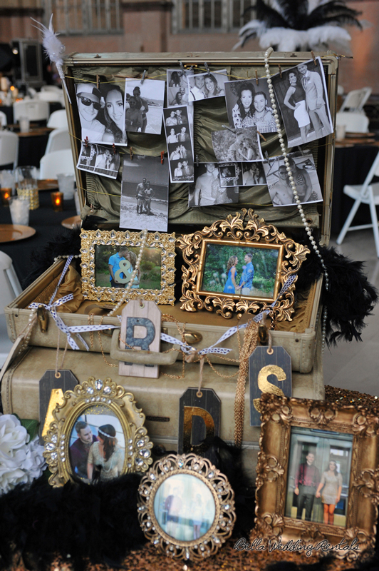 great gatsby wedding theme - T & P wedding reception - 1504