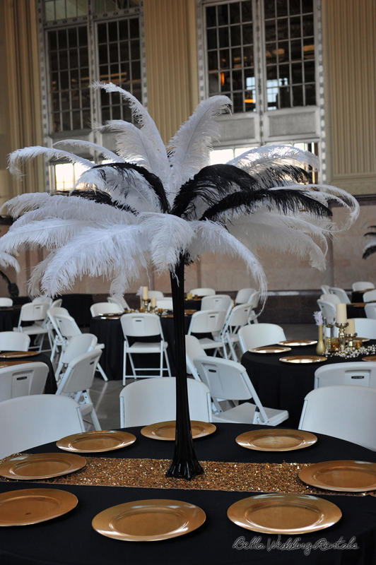 great gatsby wedding theme - T & P wedding reception - 1510