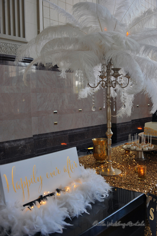 great gatsby wedding theme - T & P wedding reception - 1515