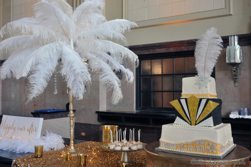 great gatsby wedding theme - T & P wedding reception - 1516