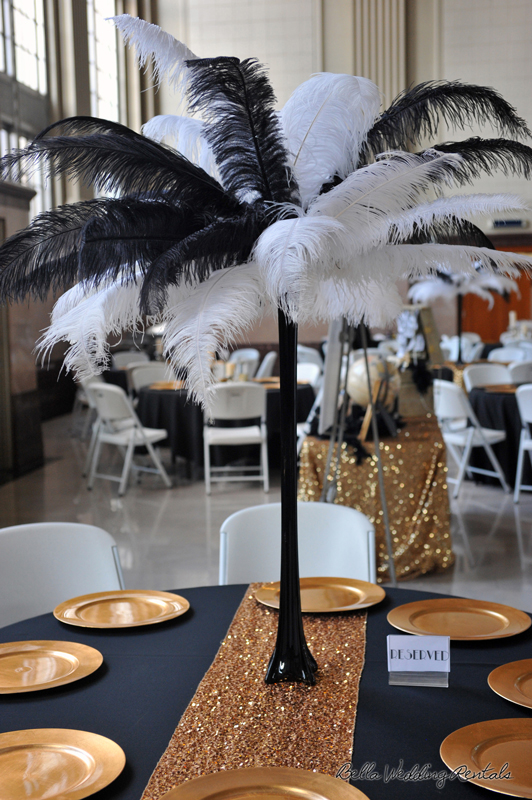 great gatsby wedding theme - T & P wedding reception - 1527