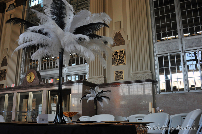great gatsby wedding theme - T & P wedding reception - 1530