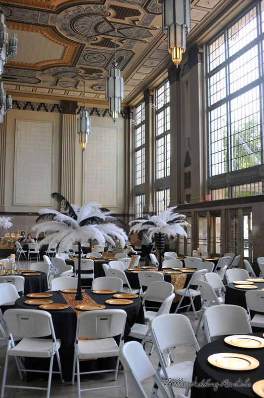 great gatsby wedding theme - T & P wedding reception - 1531