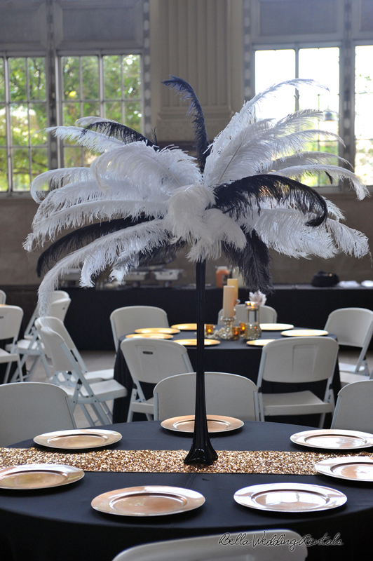 great gatsby wedding theme - T & P wedding reception - 1532
