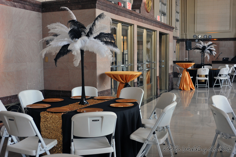 great gatsby wedding theme - T & P wedding reception - 1533