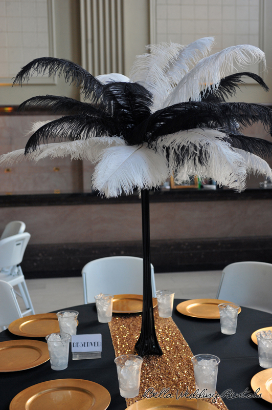great gatsby wedding theme - T & P wedding reception - 1536