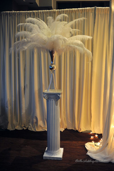 great gatsby wedding theme - La Cima wedding - 1503