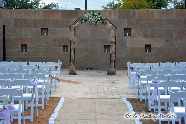 wedding ceremony - altar