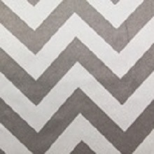 White & Silver Chevron