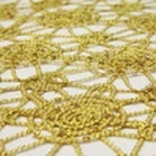 Gold Chain Lace