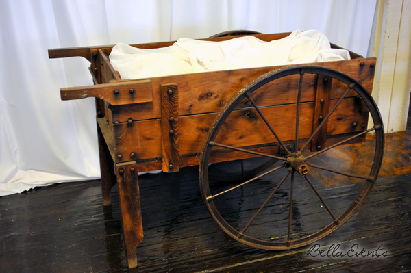 Rustic Flower Cart