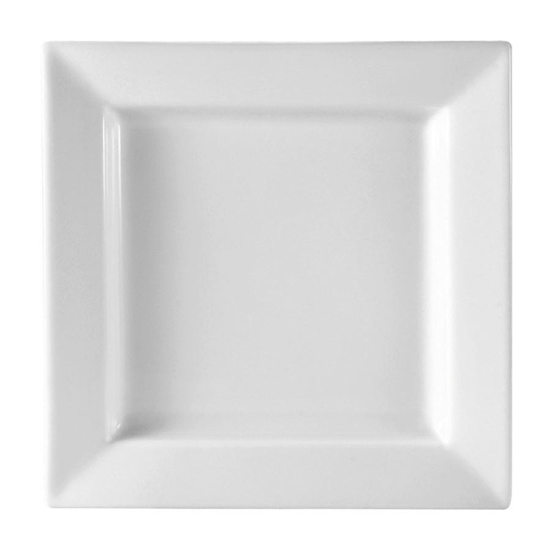 Square White China Plates