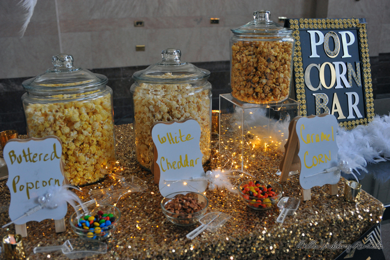 popcorn station - great gatsby - wedding reception - 1527
