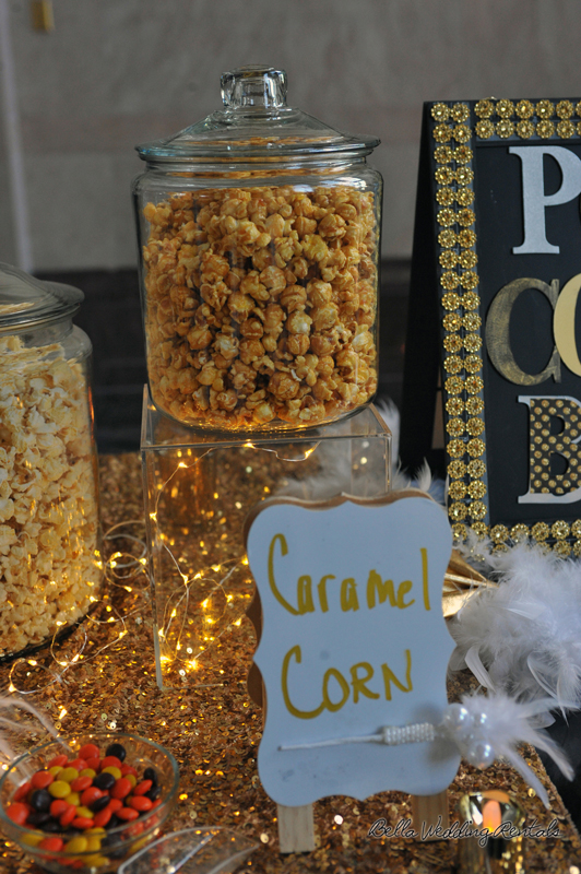 popcorn station - great gatsby - wedding reception - 1529