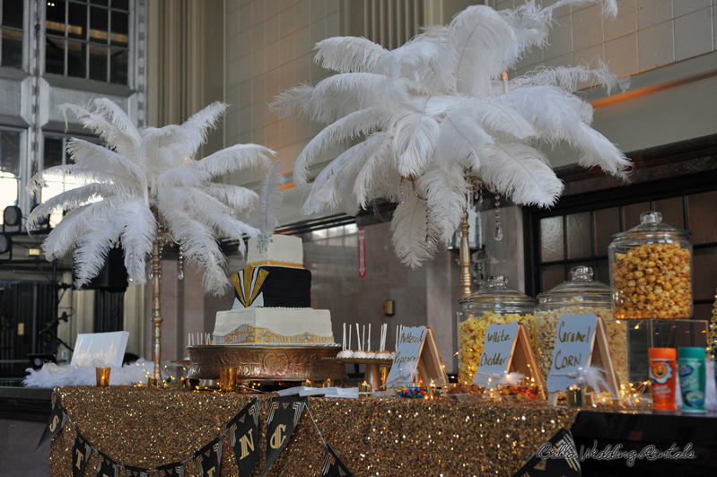 popcorn station - great gatsby - wedding reception - 1533