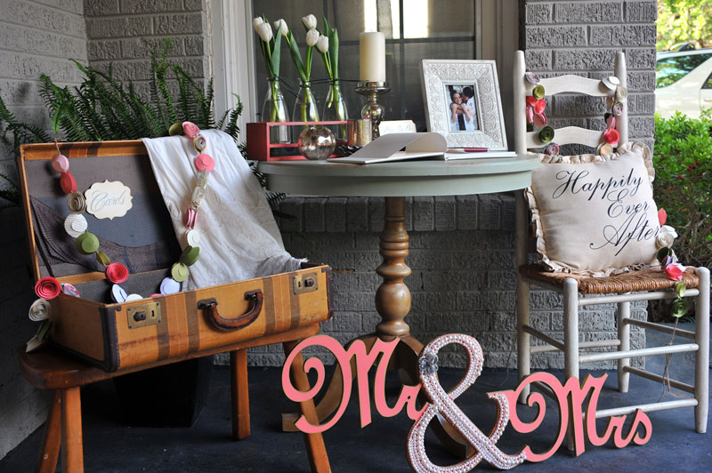 Scene Staging - Entryway . Wedding Altar . Cake Table . Sweetheart Table . Bar