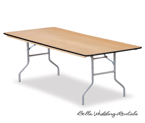 rectangle banquet table