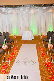 aisle runner rental
