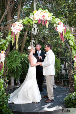 wrought iron wedding arch