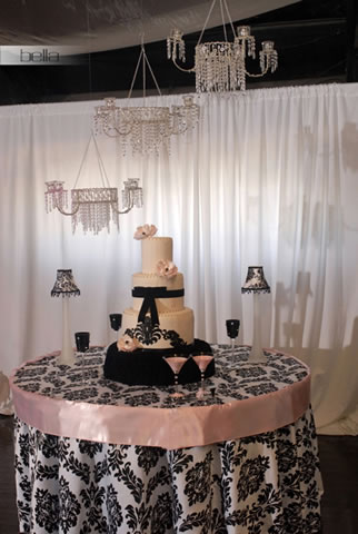wedding cake table - wedding day - 2041