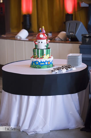 wedding cake table - wedding day - 2062
