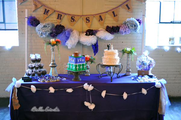 wedding cake table - wedding day - 2075
