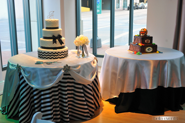 wedding cake table - wedding day - 2080