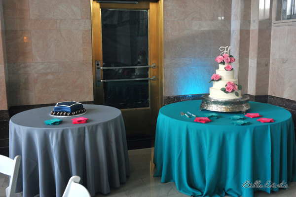 wedding cake table - wedding day - 2100
