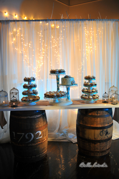 wedding cake table - wedding day - 2104