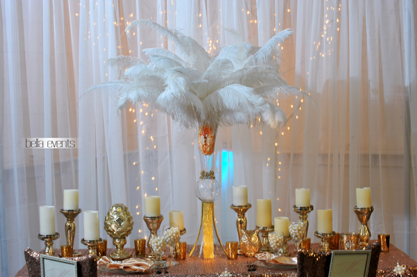 wedding head table - wedding reception - 2121