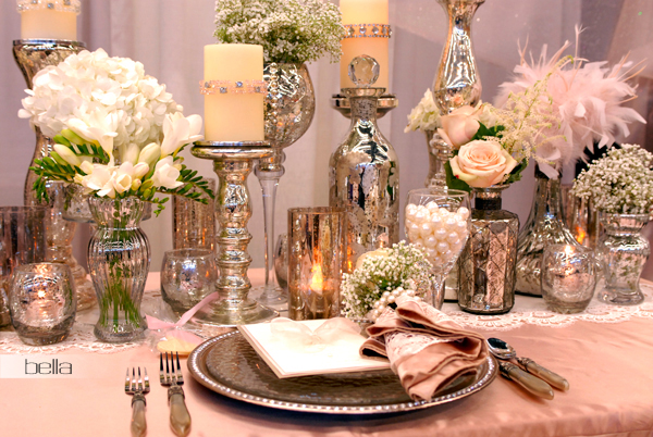 wedding head table - wedding reception - 2122