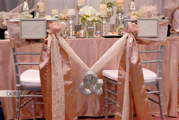 wedding head table - wedding reception - 2124
