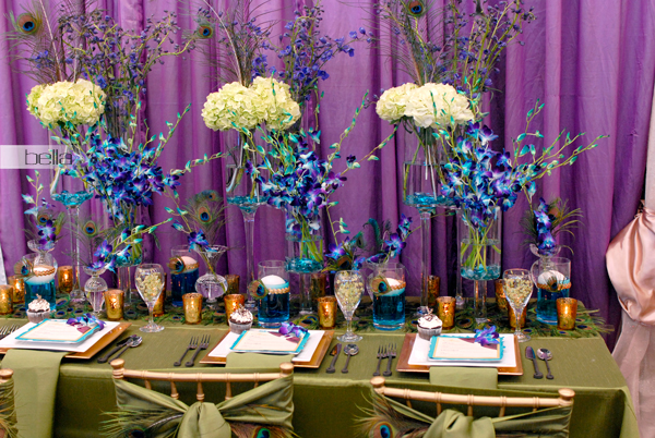 wedding head table - wedding reception - 2129