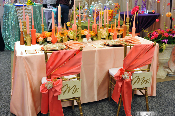 wedding head table - wedding reception - 2130