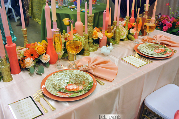 wedding head table - wedding reception - 2131